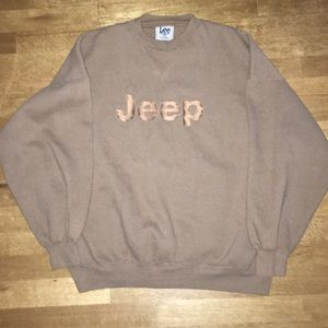 JEEP Crewneck Pullover by LEE Sport